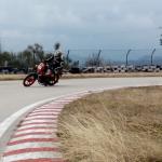 Garelli Ciclone in pista