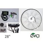kit bici elettrica 28 batteria al portapacchi
