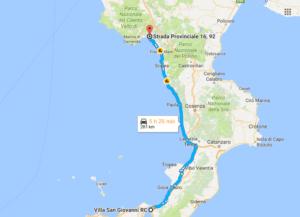 281 km